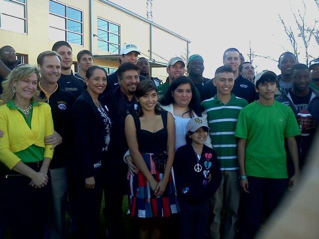 Alejandro Gonzalez's Baylor University acceptance Party at Haven for Hope. Courtesy photo.