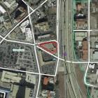 Site map of 901 E. Houston Street.