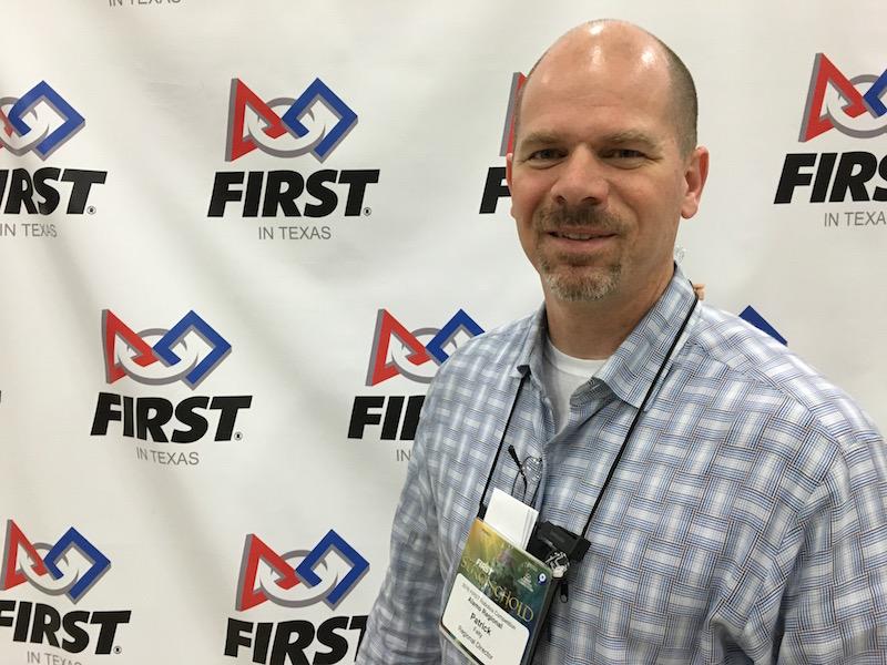 Alamo Region-FIRST director Patrick Felty. photo by Bekah McNeel