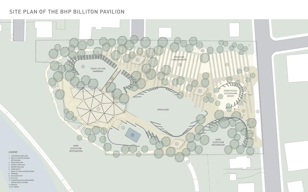 Image courtesy of Lake/Flato Architects and the San Antonio River Foundation.