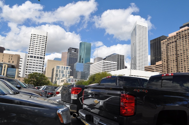 Houston has made great strides in green space and public transportation, but make no mistake, it's still a very car-centric city. Photo by Iris Dimmick.