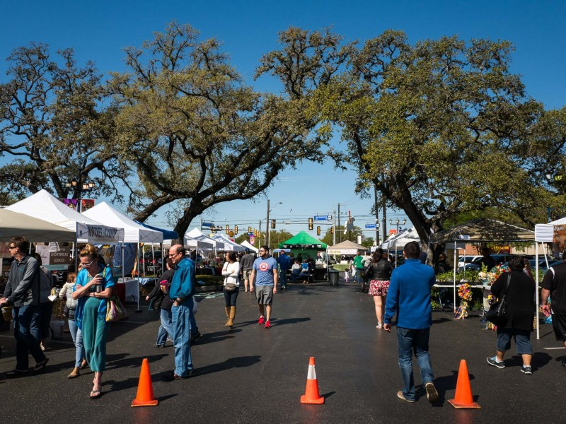 The 78209 Farmers Market which is located at Carousel Court at Richmond Oaks off of Nacogdoces Road. Photo by Scott Ball.