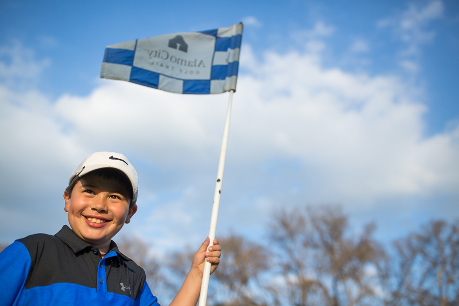 Diego Garcia is due to fly out to Scotland in May for the 2016 European Junior Golf Championship. Photo by Scott Ball.