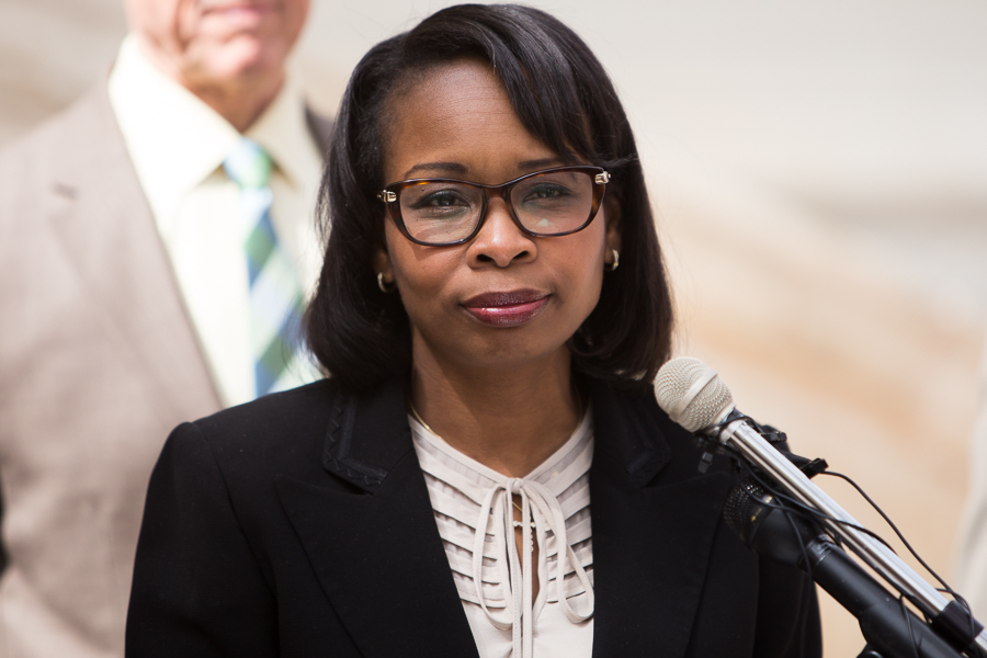 Mayor Ivy Taylor brings a proposal for the San Antonio Police Union back to the table on Wednesday afternoon. Photo by Scott Ball.
