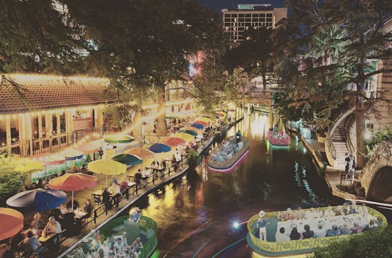 METALAB's river barge design won the AIA San Antonio/City of San Antonio design competition. Rendering courtesy of METALAB.