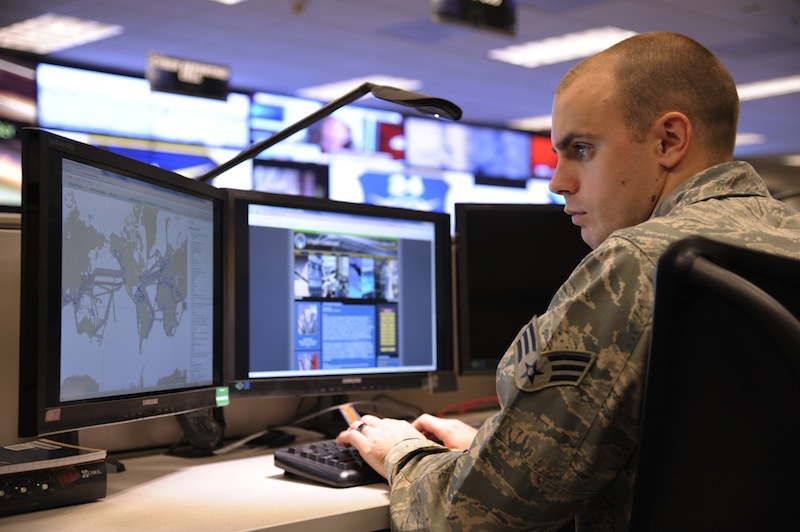 Nearly 1,000 cybersecurity experts, uniformed and civilian, are employed by the 24th Air Force within the Port San Antonio campus. Photo courtesy of Port San Antonio.