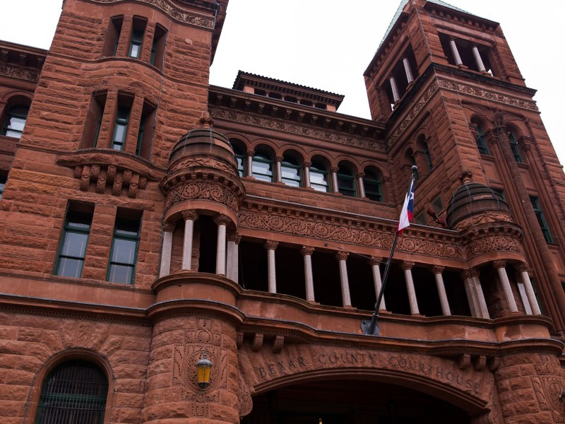 The historic Bexar County Courthouse. Photo by Scott Ball.