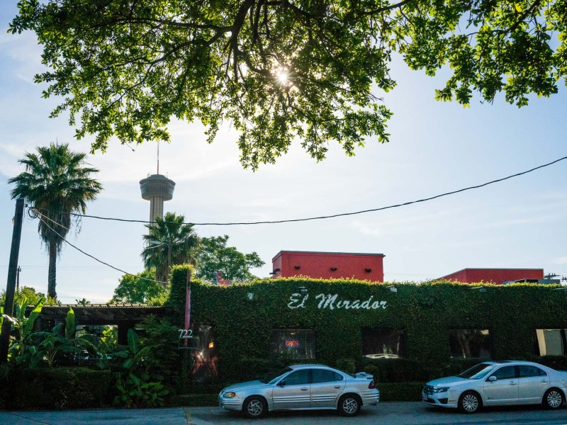 El Mirador is located at 722 S St Mary's Street. Photo by Kathryn Boyd-Batstone