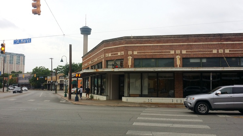 San Antonio Federal Credit Union has plans to move into the historic building that used to house the Texas Highway Patrol Museum. Photo by Iris Dimmick.