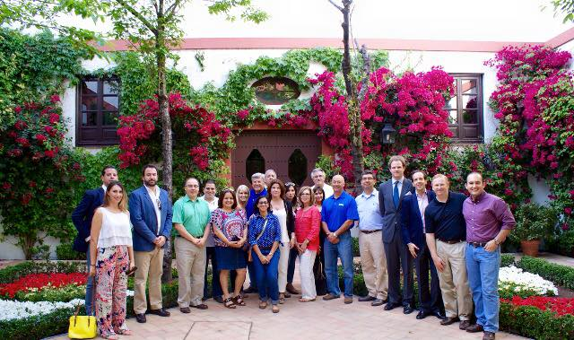 Members of the 2015 Trade and Cultural Mission delegation in Spain. Photo courtesy of the San Antonio Hispanic Chamber of Commerce.