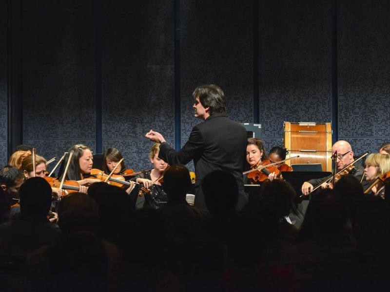 The Chamber Orchestra of San Antonio performs their inaugural concert at the Tobin Center for the Performing Arts. Photo Courtesy of COSA.