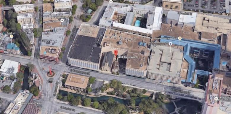 Google Map of St. Joseph Catholic Church and surrounding area.