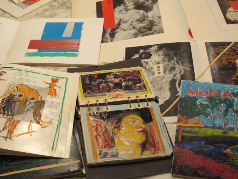 Larry Graeber's artist books. Photo by David S. Rubin.