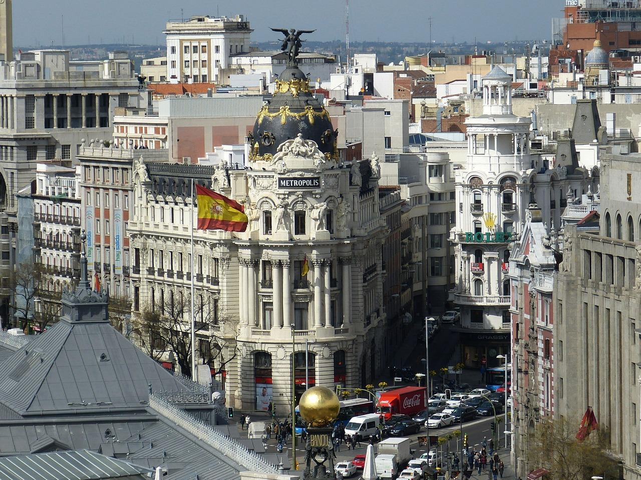 Madrid, Spain. Public domain image
