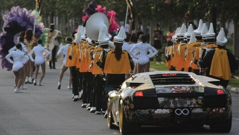 King of Arms Parade, 2013, New Orleans. Photo courtesy of Rashaad Newsome.