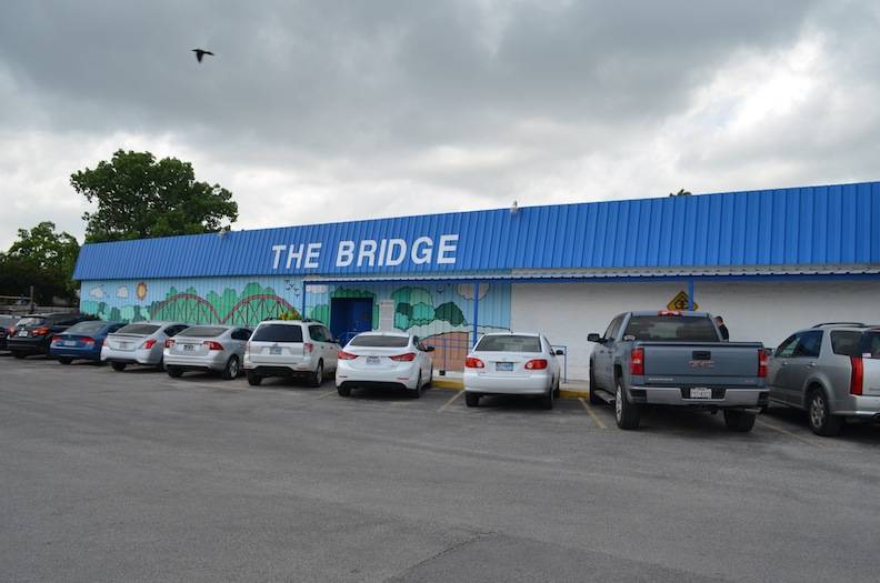The Bridge at the Roy Maas Youth Alternatives center is located at 3103 West Ave. Photo by Camille Garcia.
