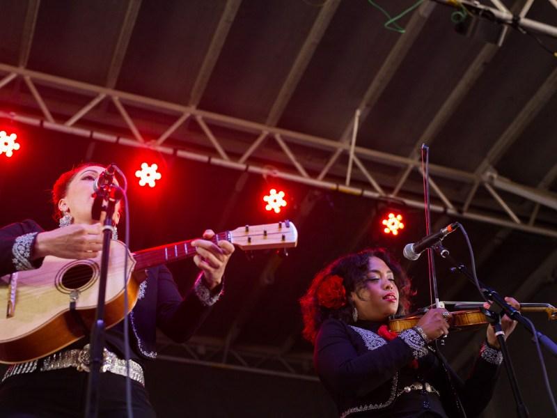 Flor De Toloache perform at Échale. Photo by Scott Ball.