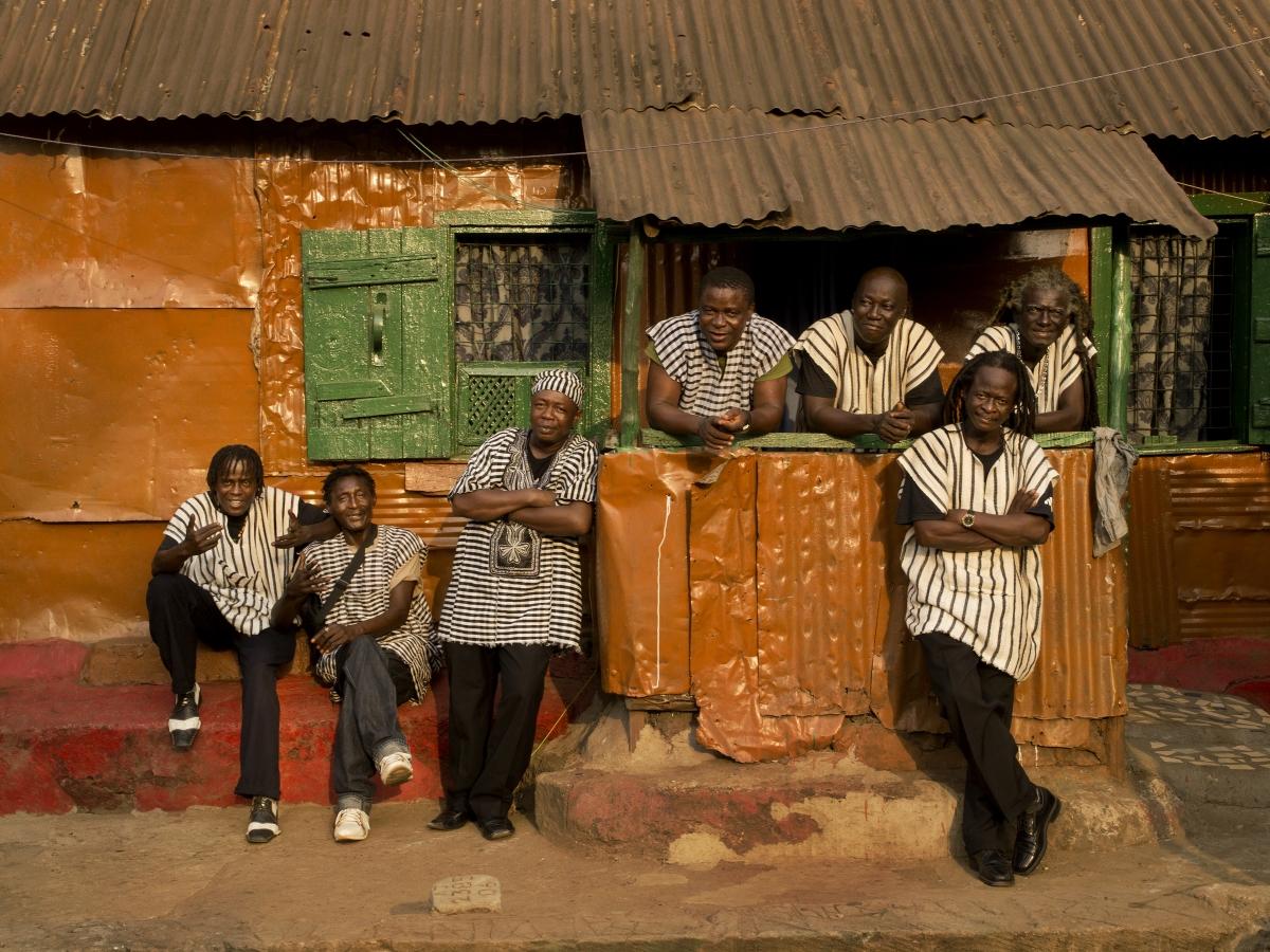 The Sierra Leone All-Stars. Photo courtesy of Arts SA.