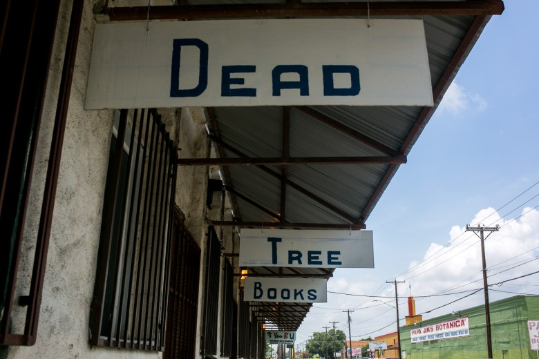 Dead Tree Books is the only non-academic, secular book shop south of downtown. Photo by Kathryn Boyd-Batstone.