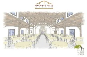 A look inside Magnolia Halle. Rendering courtesy of Culinaria.