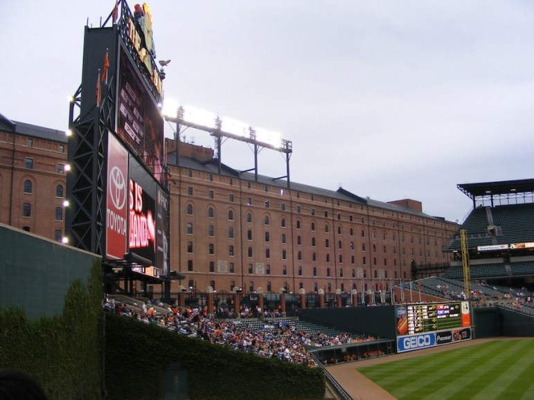 Oriole Park at Camden Yards. Photo by Flickr user Ted Kerwin.