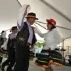 Chilean festival dancers. Photo courtesy of the Texas Folklife Festival.