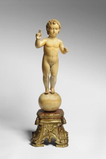 """Christ Child as Salvator Mundi (Savior of the World)."" Image courtesy of the San Antonio Museum of Art."