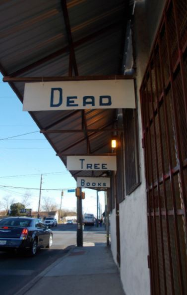 The newest bookstore in San Antonio, and the only one on the Southside, recently opened at the corner of Flores and Southcross. Photo courtesy Dead Tree Books.
