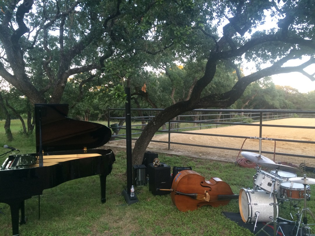 nstruments lie at rest in an environment not dissimilar to that of Jazz, TX. Photo courtesy of Adam Tutor.
