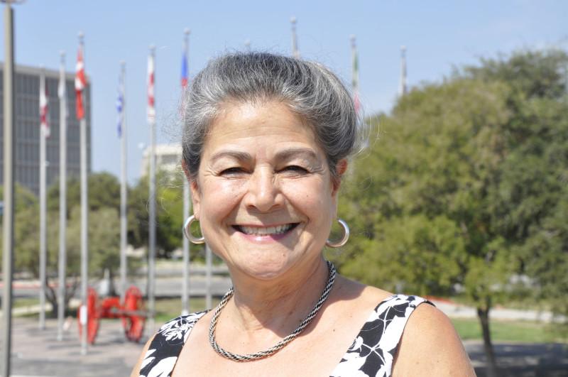 Texas Folklife Festival Director Jo Ann Andera. Photo courtesy of the Texas Folklife Festival