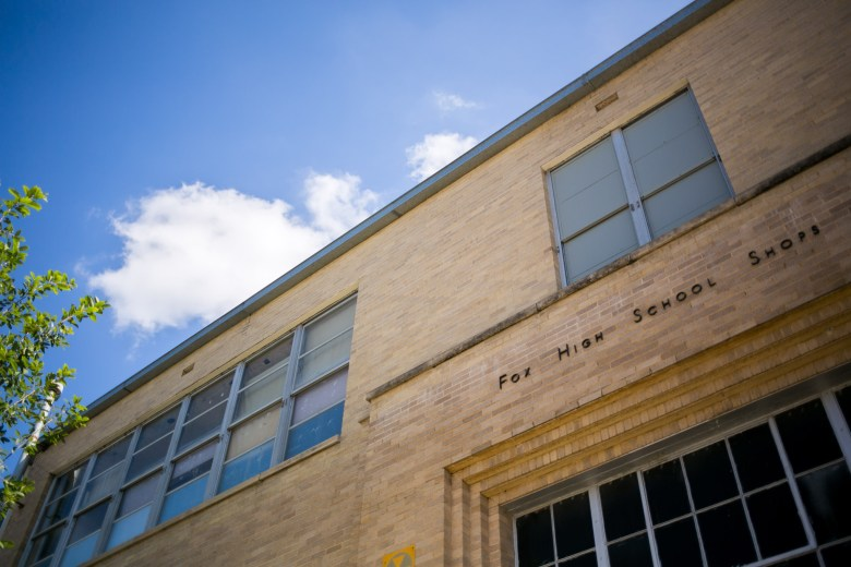 CAST Tech High School will be located on the grounds of Fox Tech campus. Photo by Kathryn Boyd-Batstone.