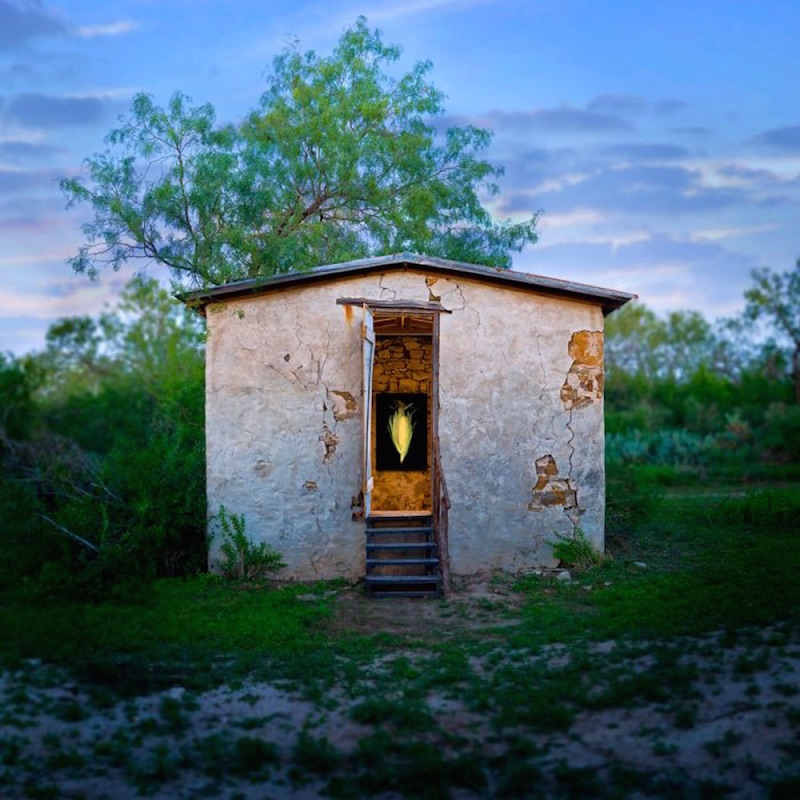Ansen Seale's The Corn Crib (2009) at Land Heritage Institute. Photo by Ansen Seale.
