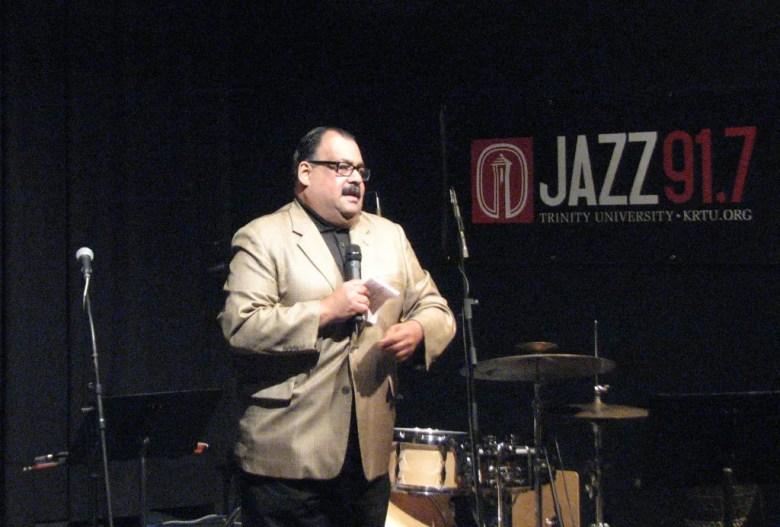 KRTU Jazz de Mexico host Jorge Canavati.  Photo courtesy of KRTU.