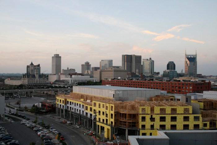 The Nashville, Tenn. skyline. Photo by flickr user M.L. Woolfolk.