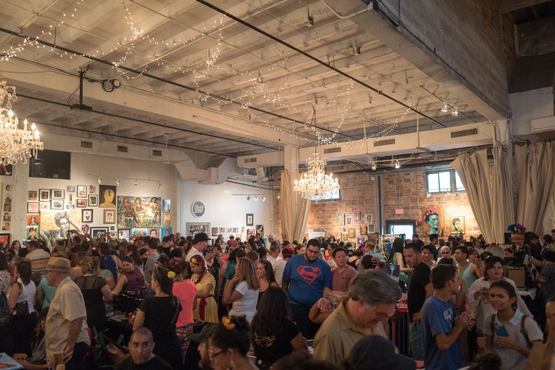 A packed house filled occupancy at Brick for the Frida Fest. Photo by Scott Ball.