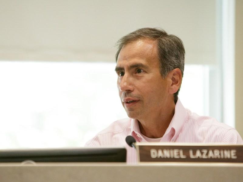 HDRC Commissioner Daniel Lazarine (D2). Photo by Scott Ball.
