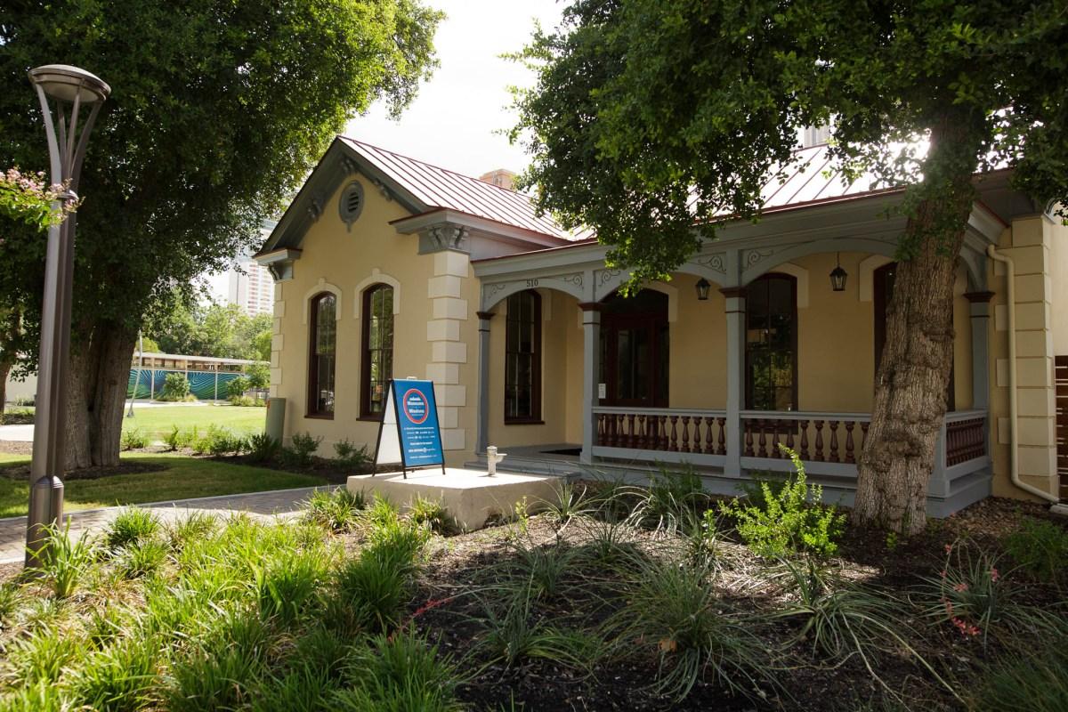 The Pereida House is home to San Antonio B-Cycle. Photo by Scott Ball.