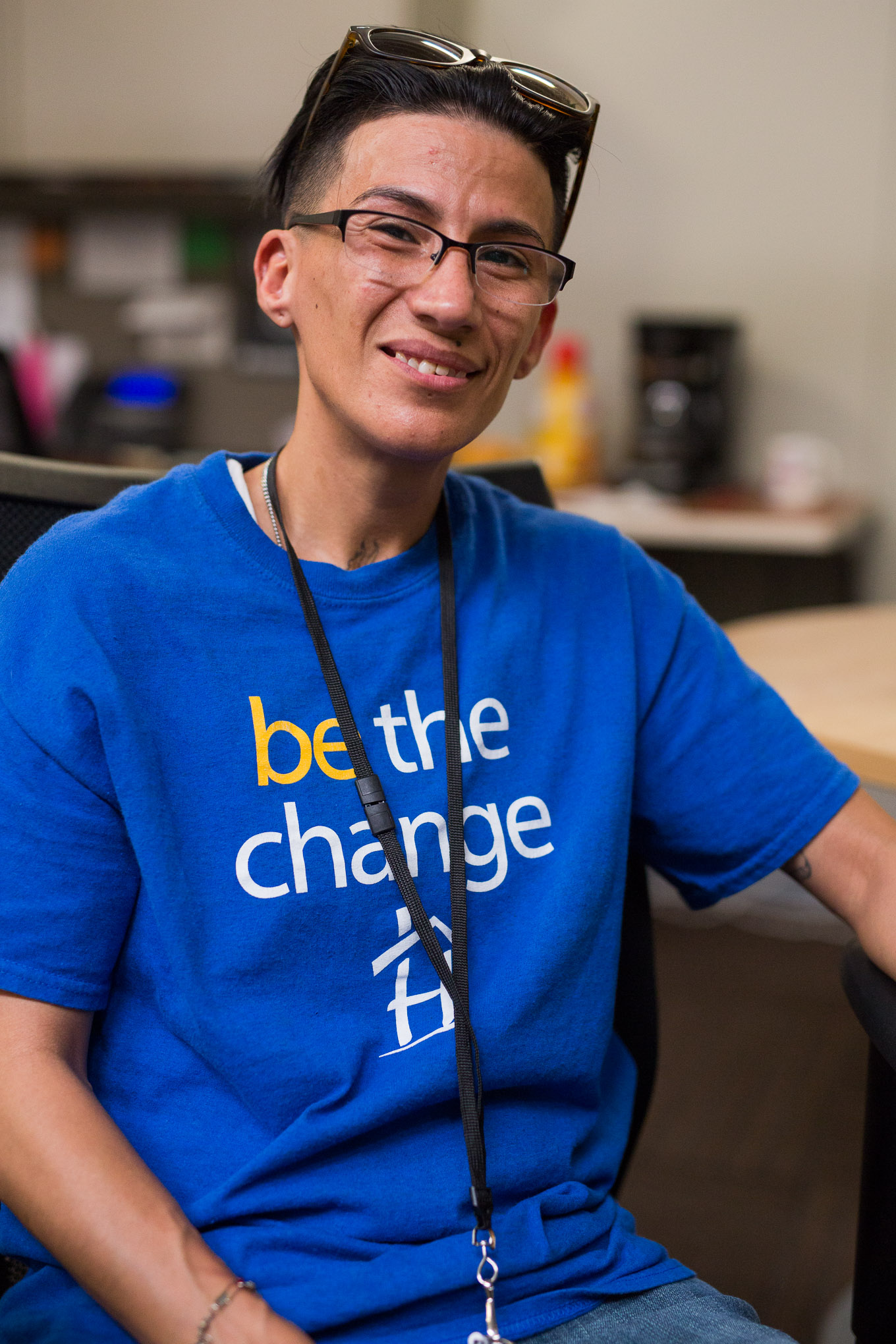 Haven for Hope Peer Support Specialist Lamanda Del Toro. Photo by Scott Ball.