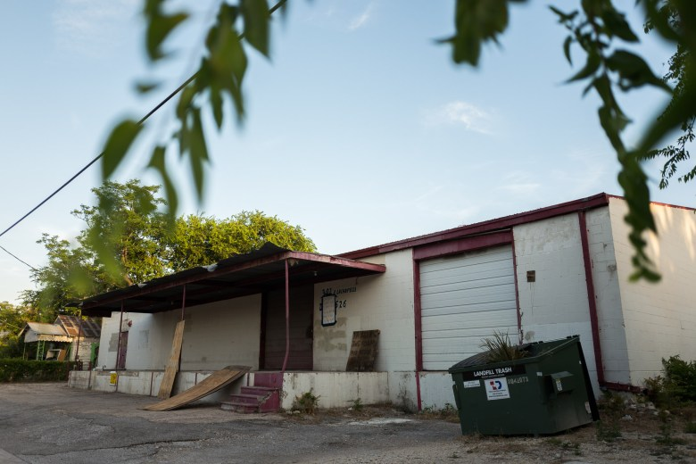 The future home of San Antonio Brewing Co. at 302 East LaChapelle on the city's Southside. Photo by Scott Ball.