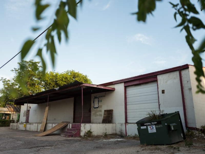 The future home of San Antonio Brewing Co. at 302 East LaChapelle in the city's Southside. Photo by Scott Ball.