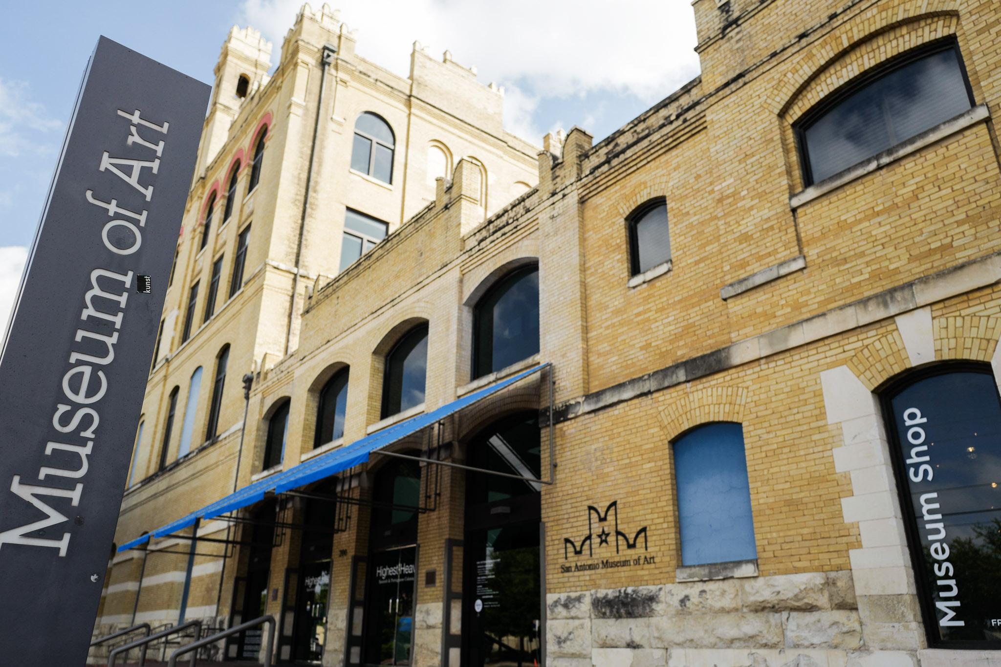 San Antonio Museum of Art at 200 W. Jones Ave. Photo by Scott Ball.