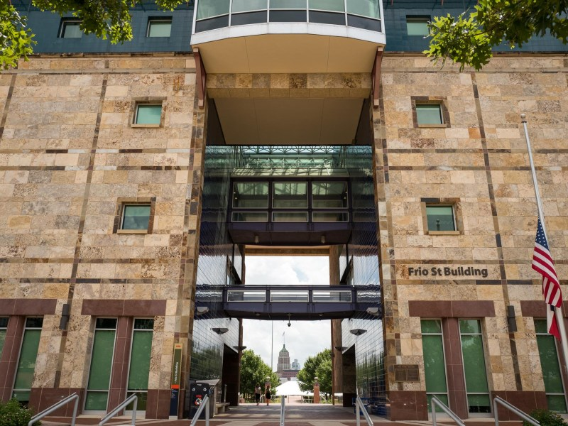The Frio Street Building at the University of Texas San Antonio Downtown Campus. Photo by Scott Ball.