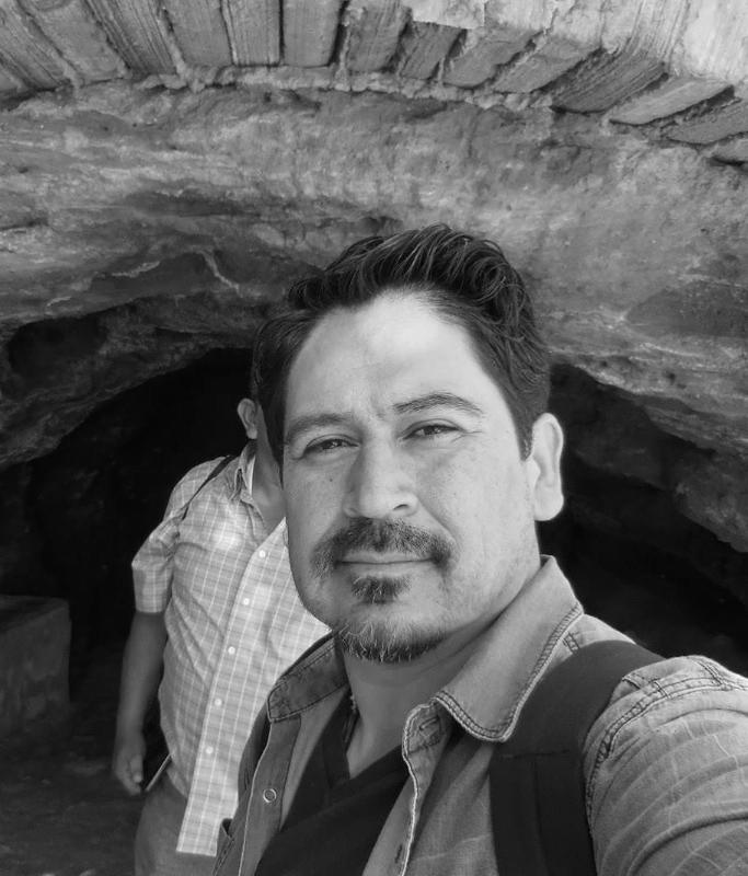 Author Tim Z Hernandez. Photo courtesy of Gemini Ink.