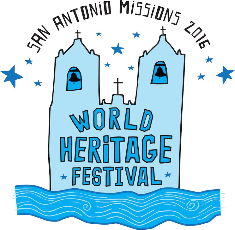 The first 400 registered participants for the World Heritage Social Bike Ride will be guaranteed a Commemorative World Heritage Festival T-Shirt designed by San Antonio Artist, Cruz Ortiz.  Photo courtesy of Ortiz.