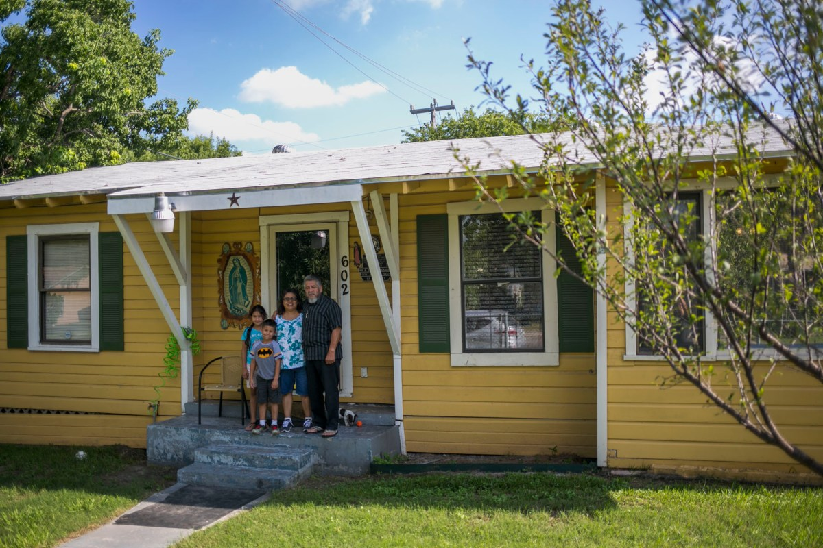 The Hernandez family was one of 10 homeowners selected to be part of the Under1Roof pilot program. Photo by Kathryn Boyd-Batstone.