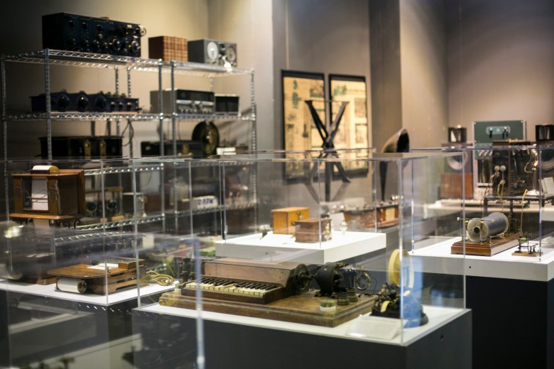The artifacts at the museum come from founder David Monroe's personal collection. Photo by Kathryn Boyd-Batstone.
