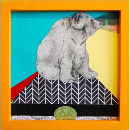Mundane Moments 7 by Kaela Puente. Image courtesy of Ruiz-Healy Arts.