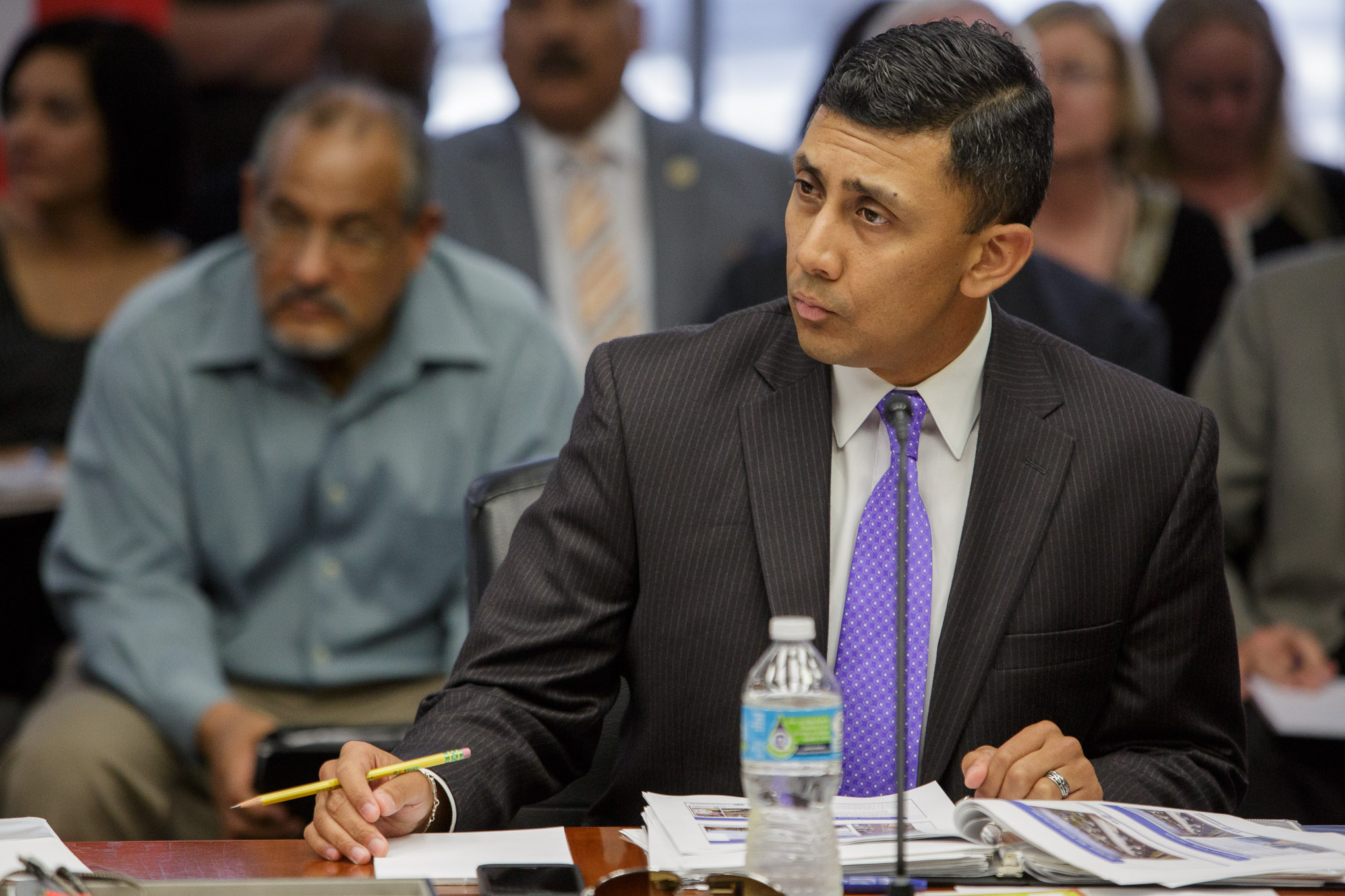 Councilman Cris Medina (D7). Photo by Scott Ball.