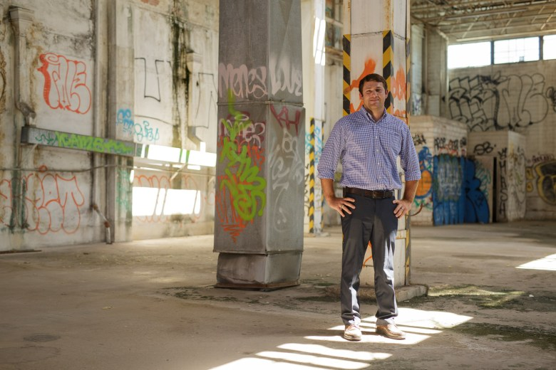 President of Aqualand Development Adam Schneider. Photo by Scott Ball.