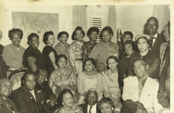 """Vintage picture of the """"SundayTea"""" Photo courtesy of Arrie Porter."""